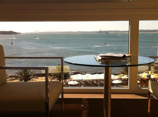 Hotel Castilla: Vista desde Suite Executive