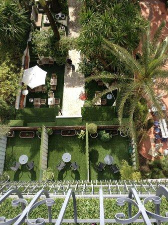 Hotel de Provence: Zimmeraussicht