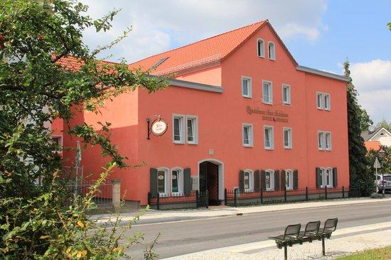 Residenz Am Schloss: Unsere Hotel-Pension in der Vorderansicht
