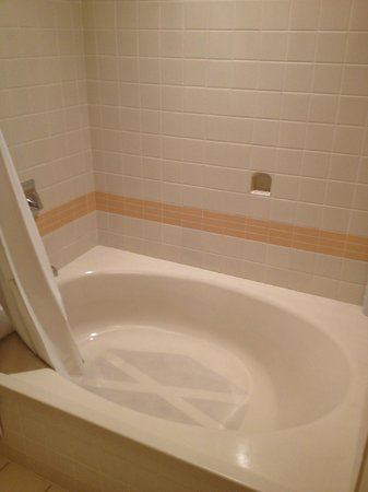Cincinnatian Hotel: Soaking tub