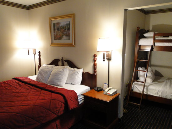 "Comfort Inn & Suites: KING BED ROOM WITH BUNK BEDS ""KIDS SUITE"""