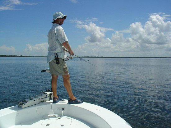 Cape Coral, Flórida: Fishing The Flats