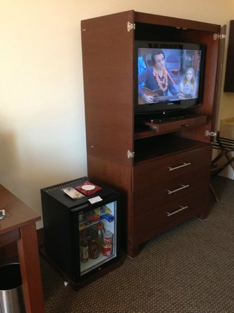 Grand Fiesta Americana Queretaro: In-room entertainment and minibar
