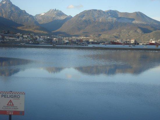 Ushuaia City Tour : vista desde la pasarela