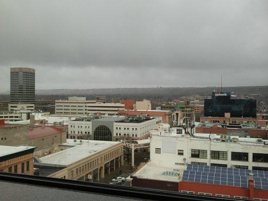 Northern Hotel: Blick aus dem 10.Stock