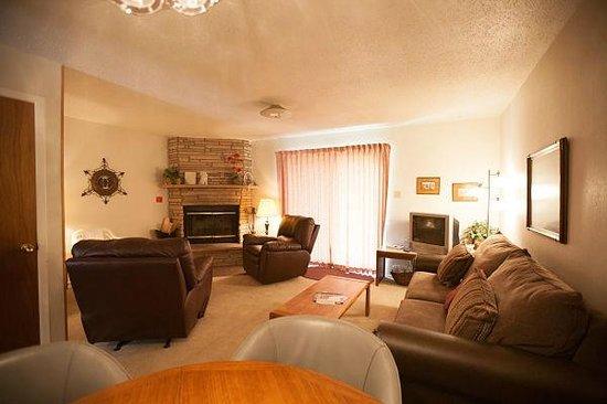Edelweiss Condominiums: Condo # 20 Living Room