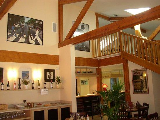 Relais Fasthotel : Salle de Restaurant