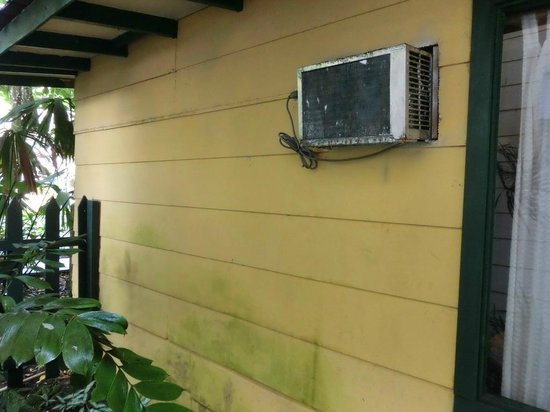 Camarona Caribbean Lodge: Klimanlage Außenansicht