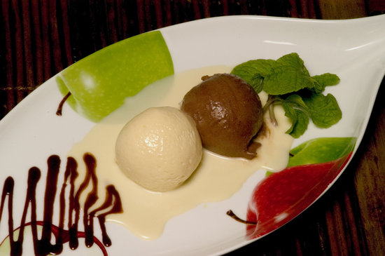Restaurante Jurgen's: Mousse de chocolate
