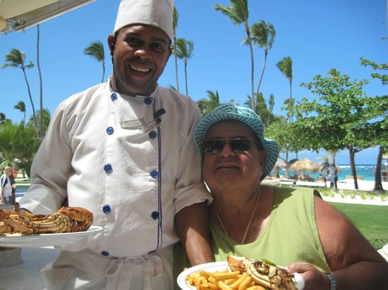Iberostar Grand Hotel Bavaro: Chef Fernando and me
