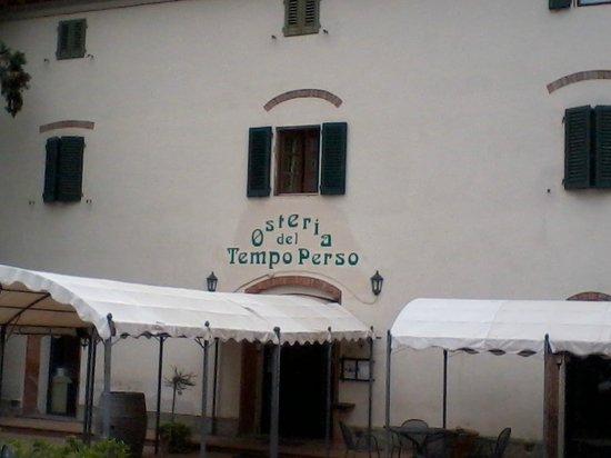 Montespertoli, Włochy: Il ristorante ....