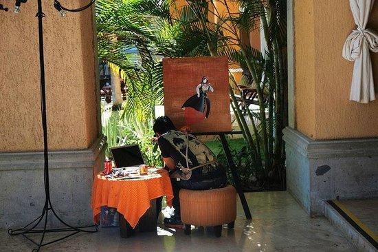 Casa Dorada Los Cabos Resort & Spa: local artist