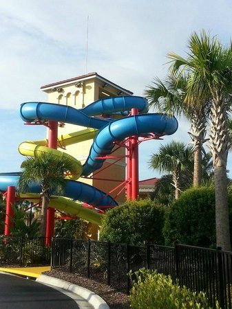 Fantasy World Club Villas: Water slide