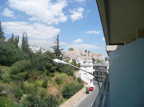 Acropolis Hill Hotel: room with a view