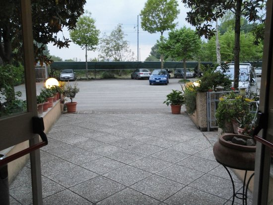 Hotel La Darsena: ingresso visto da dentro