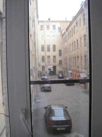Grand Mark Hotel: Room window view