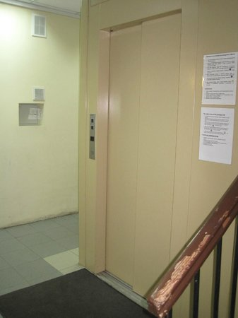 Grand Mark Hotel: Elevator (wasn't working upon arrival but fixed later.)