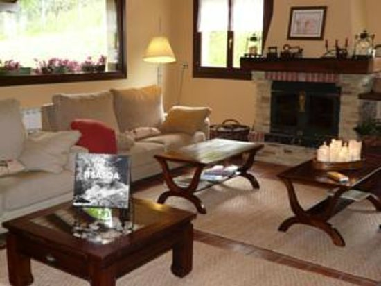 Casa Rural Haritzpe : Salon