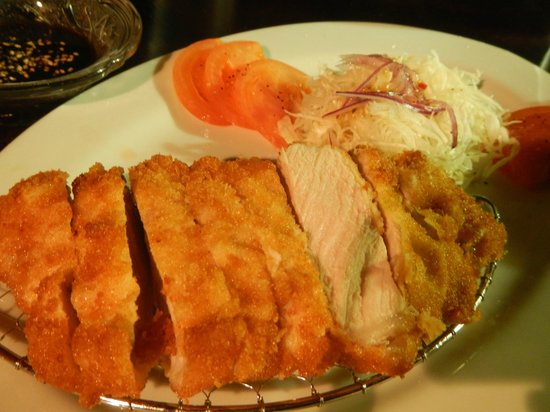 Japanese Dining Bar KANPAI: Tonkatsu (Pork Cutlet)