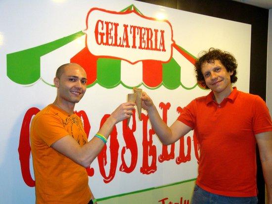 Gelateria Carosello : Inauguration