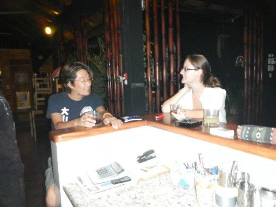 Japanese Dining Bar KANPAI: Conversing at the bar