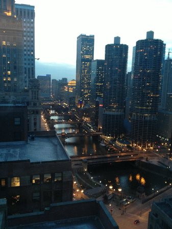 Hard Rock Hotel Chicago: View from a room on the 28th floor