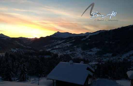 Above All Chalet Co: Beautiful Sunsets