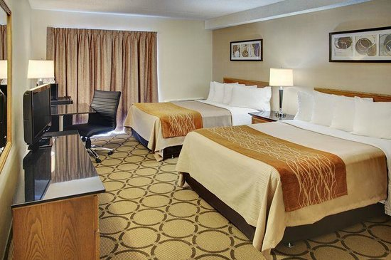 Comfort Inn Waterloo Ontario: Double Room