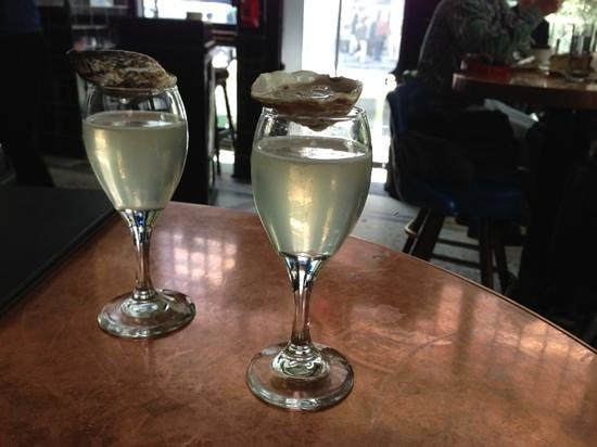 The John Dory Oyster Bar: Shooters