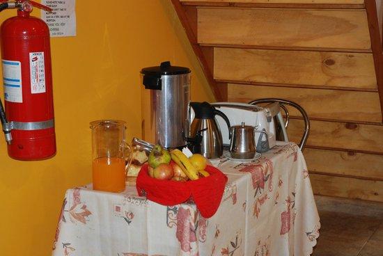 Patagonia Swiss House: Frühstück