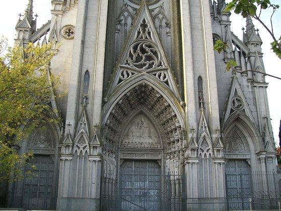 Iglesia de las Carmelitas: Frente de la iglesia