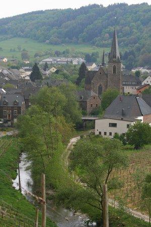 Weingut & Gastehaus Stephan Kohl: Blick auf Neumagen-Dhron