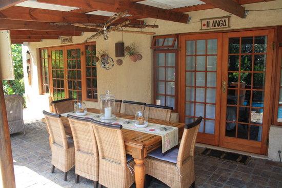 KhashaMongo Guesthouse: Wunderschöne Veranda