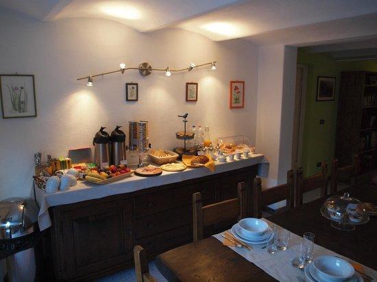 B&B Il Giardino del Pettirosso : breakfast
