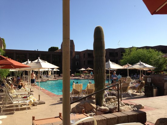 Loews Ventana Canyon Resort: pool view