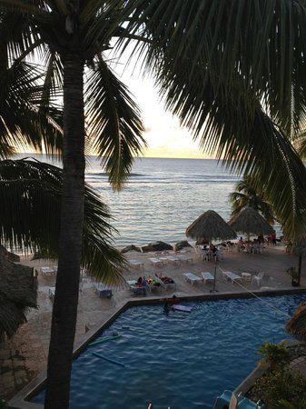The Edgewater Resort & Spa: View from second floor beach view room
