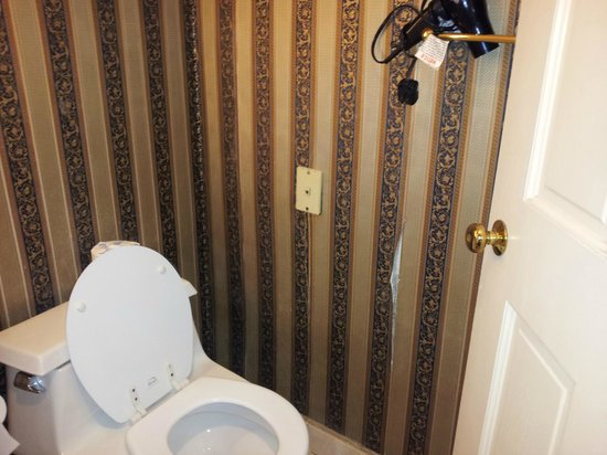 The Fairmount: Torn wallpaper and toilet wouldn't flush