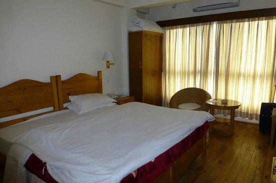 Hotel Holy Himalaya: Chambre du quatrième étage