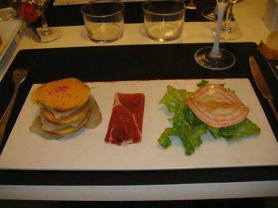 La Cuisine: Novel combination with foie gras