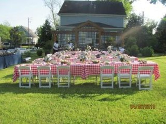 Brady Inn: Perfect evening for a rehearsal dinner