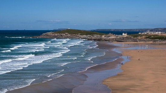 Fistral Beach Hotel and Spa: Fistral Bay beach