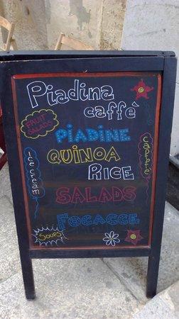 Piadina Caffe: Welcome to Piadina
