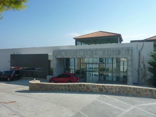 Adrina Resort & Spa: Bâtiment de l'accueil