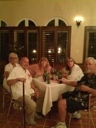 El Cordova Hotel: Happy guests in the Casa Grande Suite