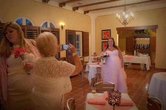 El Cordova Hotel: Inside the Casa Grande Suite, our reception...