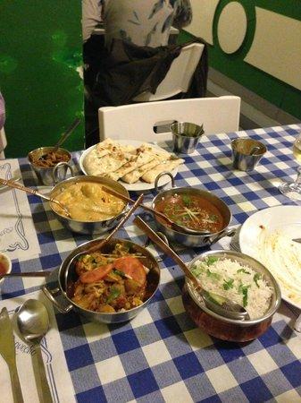 Swagatam Bar-Restaurant Hindu: Main course