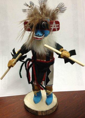 Cameron Trading Post : Navajo Katchina Doll