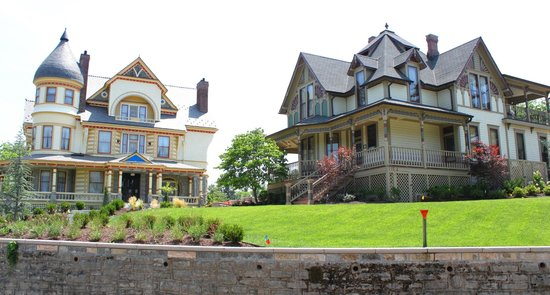 Two Big Victorian Houses Picture Of Eureka Springs