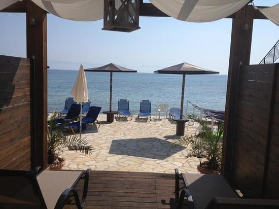 Galini Beach Studios: View from Sea view Studio