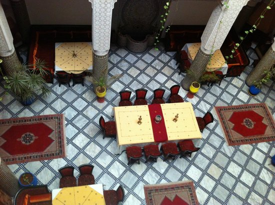 Riad Dar Dmana: zona colazione-pranzo-cena